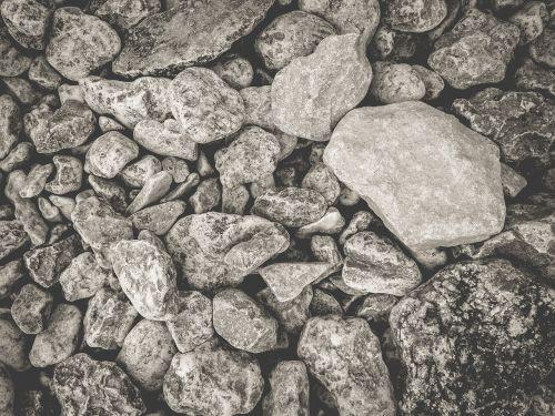 rocks boulders grey
