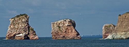 rocks  biarritz  beach