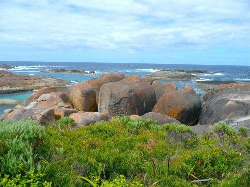 rocks nature landscape