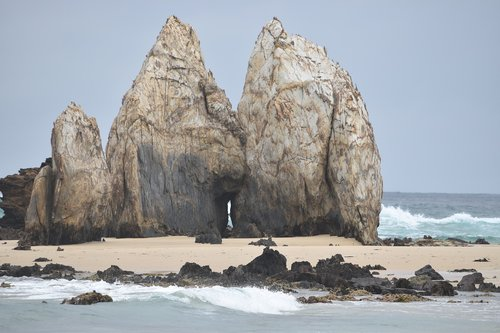 rocks  rocks on the beach  penguin rocks