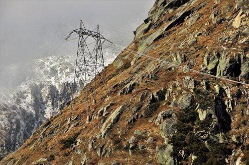 rocks  mountains  the alps