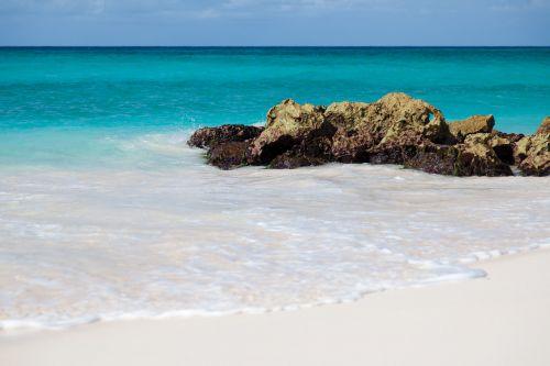 Rocks In Azure Sea