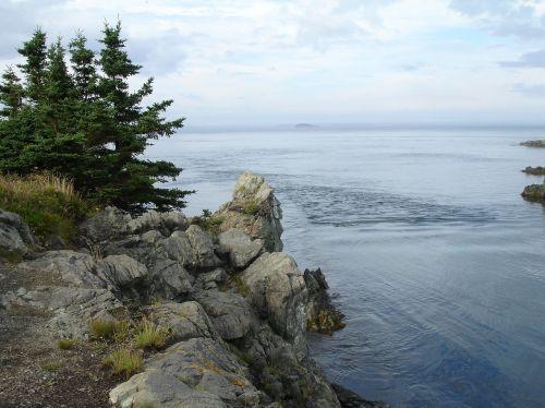 rocky lake water