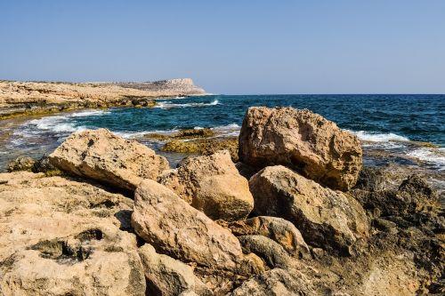 rocky coast rocky formation