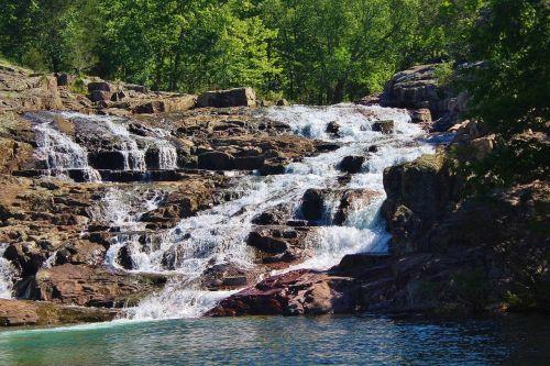rocky falls missouri falls