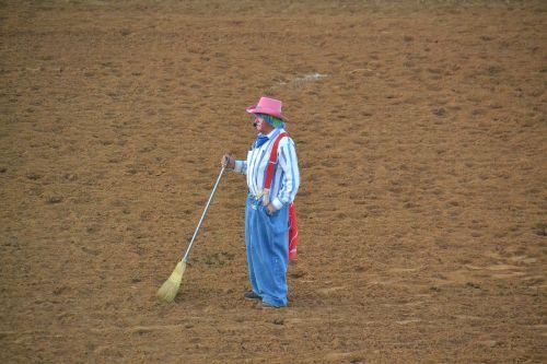 rodeo clown cowboy