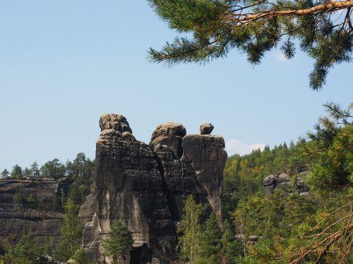 rohnspitze domwächter elbe sandstone