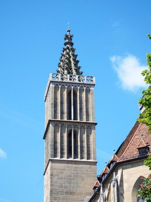 rohtenburg  tower  spire
