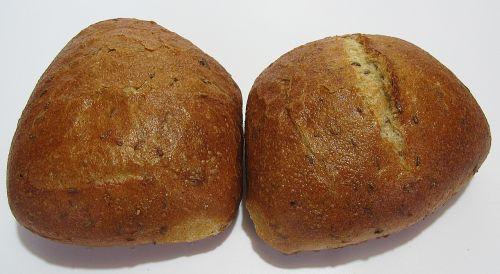 roll rye caraway bun