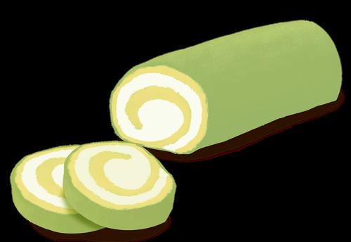 roll cake  cake  food