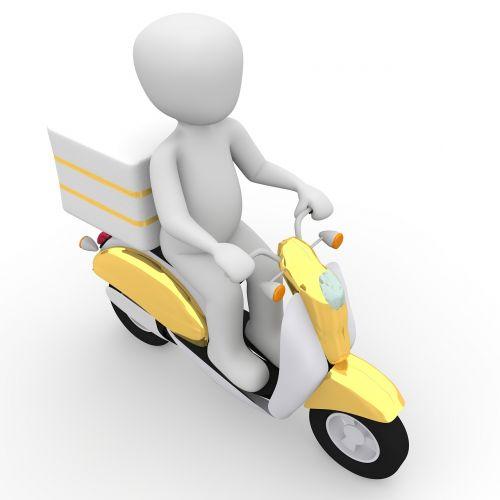 roller vespa delivery