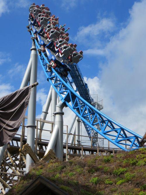 roller coaster europa park theme park