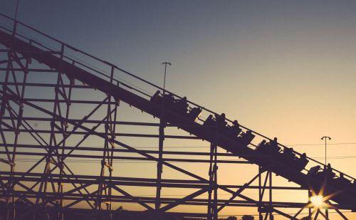 roller coaster amusement park coaster