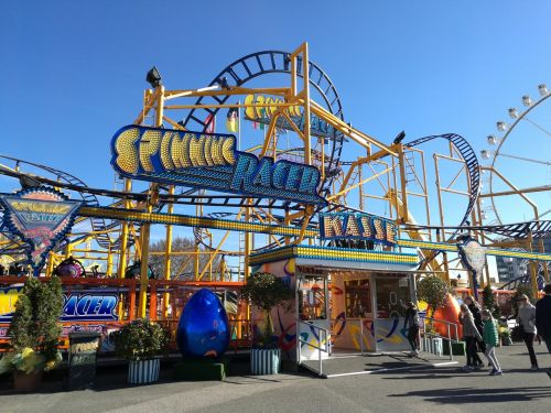 roller coaster hamburg dom