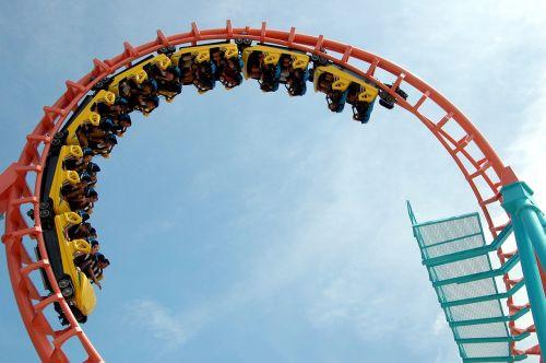 roller coaster ride fun