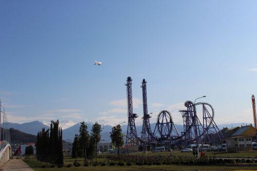 kalneliai,kalnai,sočis,olimpinis parkas
