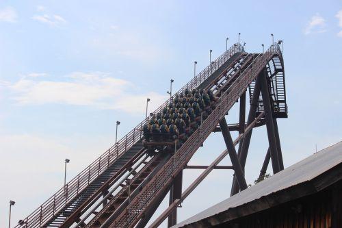 roller coaster ride amusement part