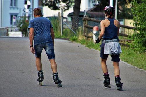 roller skates  para  total