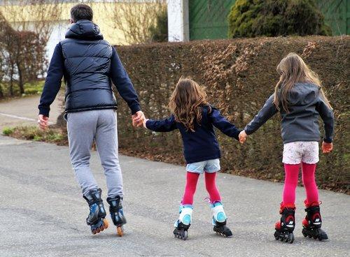 roller skates  can  total