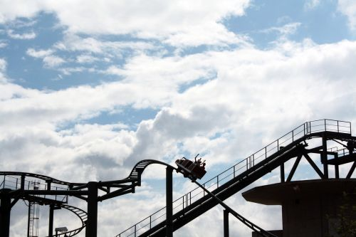 rollercoaster ride excitement