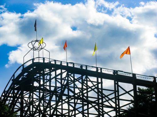 rollercoaster amusement park fun