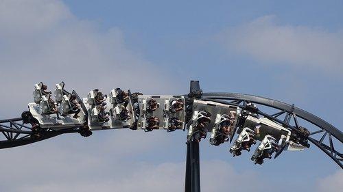 rollercoaster  ride  adrenaline