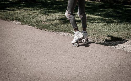 rollerskating girl roller