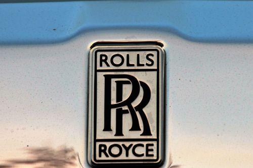 rolls royce brand emblem
