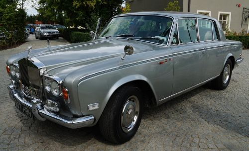 rolls royce oldtimer retro car