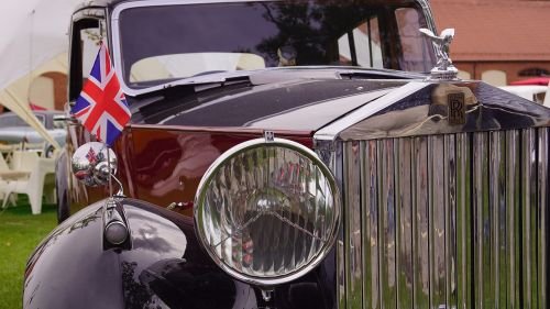 rolls royce antique historically