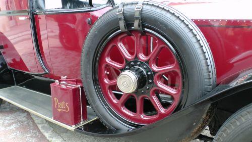 Rolls-Royce Brougham Spare Wheel