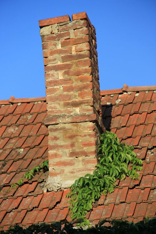rom chimney brick