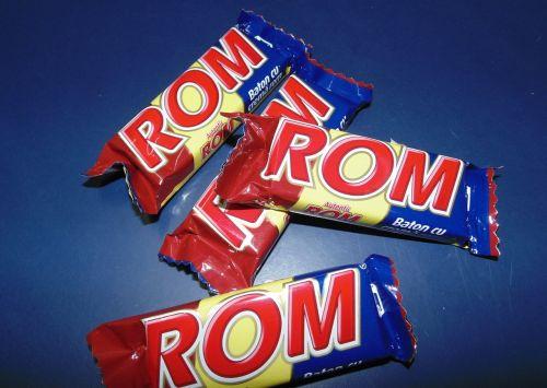 rom bars chocolate romania