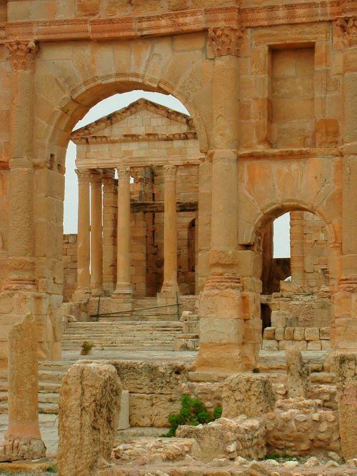roman ruins sbeitla