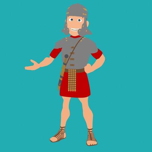roman  3d  soldier