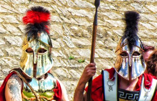 roman grecian mask