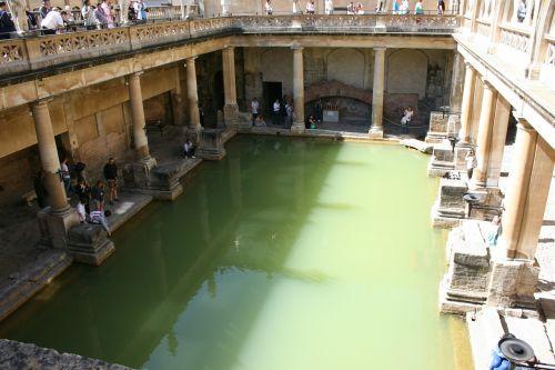 roman baths bath england