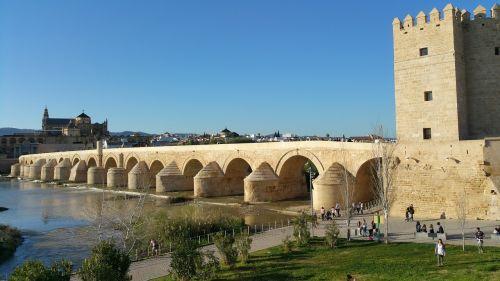 roman bridge of córdoba bridge córdoba