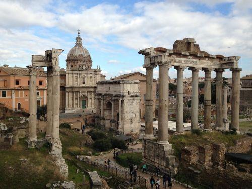roman forum rome architecture