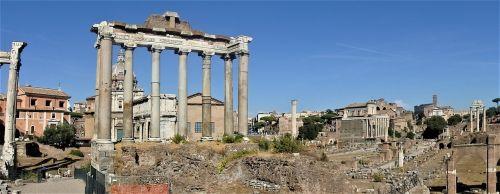 roman forum rome archaeological