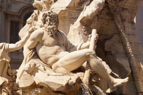 roman holiday piazza navona fontana dei quattro fiumi