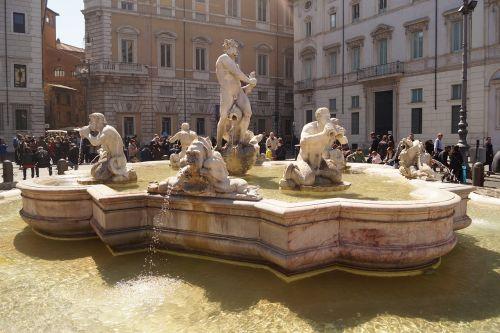 roman holiday rome fontana del moro