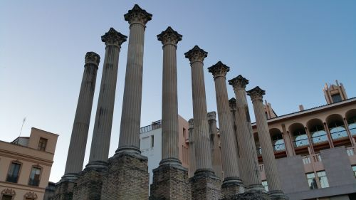 roman temple of córdoba cordoba roman