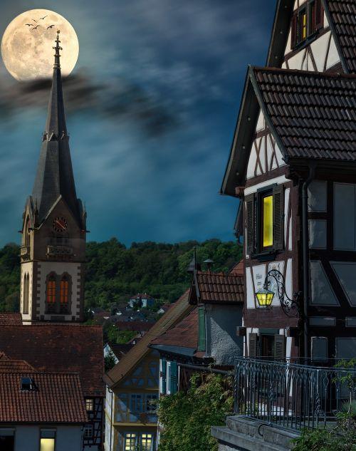 romance fachwerkhäuser historic old town