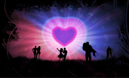 romance valentine together