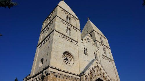 romanesque church jak church church