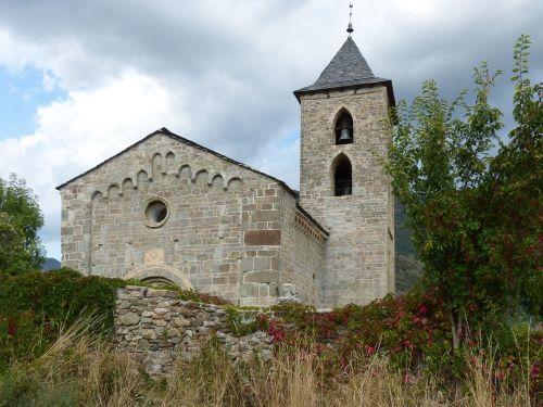 romanesque church l'assumpció of cóll pallars sobirà
