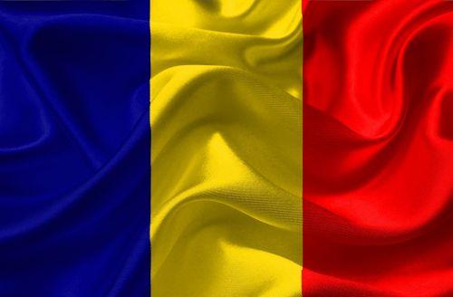 romania flag europe