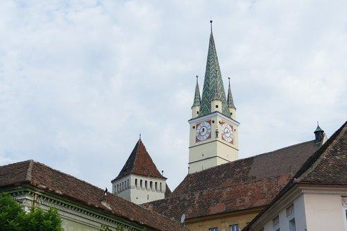 romania  transylvania  historic center