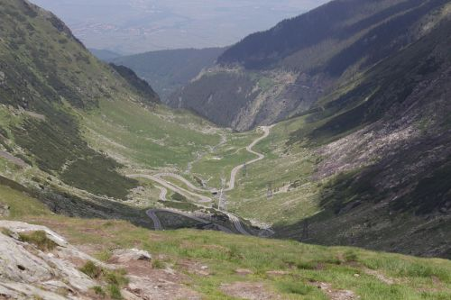 romania carpathian mountains pass